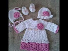 Crochet baby set for autumn(spring) season