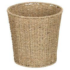 Seagrass Waste Basket - Natural : Target