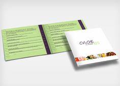 CVICHE 105 - Diseño de carta menú CVICHE 105 - Menu design