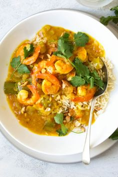 "Curried Prawns by buddingcook - ""This is really beautiful. I have been looking for a nice curry dish and this is the best. Prawn Recipes, Curry Recipes, Fish Recipes, Seafood Recipes, Indian Food Recipes, Cooking Recipes, Recipies, Prawn Dishes, Curry Dishes"