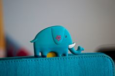 Fun Owl or Elephant Jumbo Paperclip Bookmarker by JustKeepPinning