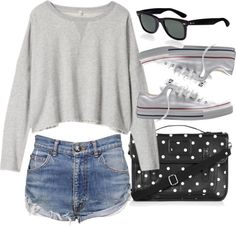 Fall outfit, when it's not too cold but not too hot. Hipster