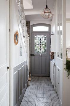 Exterior House Entrance Ideas Entryway 26 Ideas For 2019 Small Doors, Home, House Exterior, Farmhouse Interior Design, Staircase Design, House, Exterior House Doors, Farmhouse Interior, Home Deco