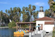 Echo Park lake Boat House in Echo Park Los Angeles Bullhead City, When I Dream, Neighborhood Watch, Park Pictures, Boat House, Tampa Florida, Echo Park, Park Homes, Huntington Beach