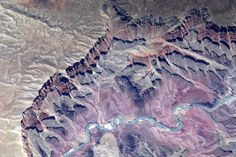 Taken from Space by European Space Agency Astronaut Paolo Nespoli - Grand canyon USA May 17, 2011