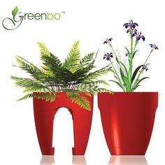 This is cool!!!     Greenbo Urban Railing Planter by Green Dzigns