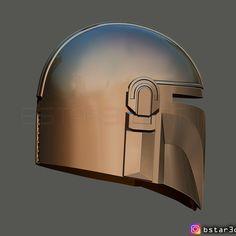 Download 3D printing designs MANDALORIAN HELMET - STAR WARS movie 2019 ・ Cults 3d Prints, Movies 2019, Mandalorian, Make A Donation, My Design, Helmet, Star Wars, Printing, Stars