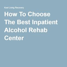 how long does inpatient alcohol detox take