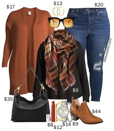 Cute Fall Outfits, Classic Outfits, Fall Winter Outfits, New Outfits, Winter Fashion, Casual Outfits, Plus Size Fall Outfit, Plus Size Fashion For Women, Plus Size Outfits