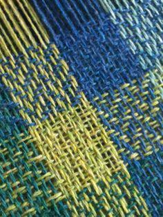 herringbone and bell celtic weave, large blanket