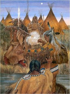 the madness of bald eagle - Myth from The Sioux Tribe....