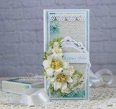 Wedding card with Pretty Flori - Scrapbook.com