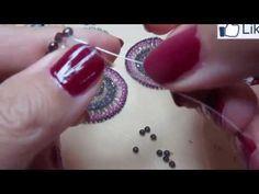 Circle chic earrings ~ Seed Bead Tutorials