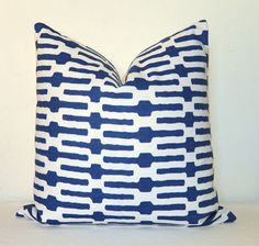 BOTH SIDE  Pillow Cover  Decorative Pillow  Throw Pillow by kyoozi