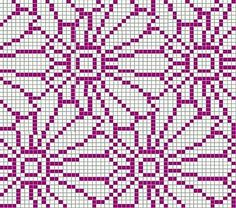 Crochet Patterns Ravelry Ravelry: Project Gallery for Chrysantheme pattern by Sabine Naumann Knitting Charts, Loom Knitting, Knitting Stitches, Knitting Designs, Knitting Patterns, Kids Knitting, Crocheting Patterns, Knitting Machine, Tapestry Crochet Patterns