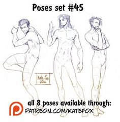 DeviantArt: More Like Pose study 35 by Kate-FoX