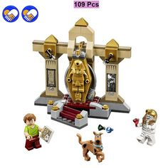 A toy A dream BELA Scooby Doo 10428 Mummy Museum stery Building Block Model Kits Scooby Doo Marveled Toys Lepin Kaizi Bela-in Blocks from Toys & Hobbies on Aliexpress.com   Alibaba Group