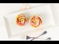 Recept: Appelbollen roosjes met frambozen - Koopmans.com