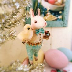 Image of Peter Cottontail ~ Hanging ornament