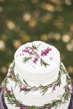 Raspberry Rosemary Cake Recipe