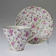 Rosina/Queens China Cup & Saucer  $22