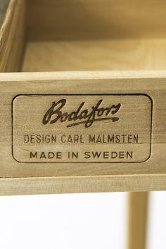 Carl Malmsten Vanity model Birgitta by Bodafors at Studio Schalling