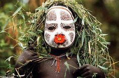 Tribal Decoration from Africa .  by Hans Silvester