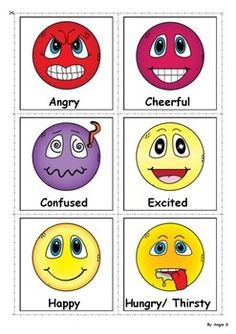 Feelings and Emotions Flash Cards, for more resources follow https://www.pinterest.com/angelajuvic/autism-special-education-resources-angie-s-tpt-sto/