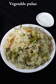 veg pulao recipe or vegetable pulao Vegetable Pulao Recipe, Vegetable Masala, Vegetable Recipes, Vegetarian Recipes, Chicken Recipes, Cooking Recipes, Curry Recipes, Veg Dishes, Rice Dishes