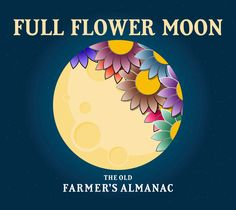 Full Moon for May 2018 ~ The Flower Moon. When is the next Full Moon? Moon phases, best days, and more from The Old Farmers Almanac May Moon, Next Full Moon, New Moon Rituals, Full Moon Ritual, Flower Moon Meaning, Moon Wallpaper, Full Strawberry Moon, Full Moon Names, Moon Facts