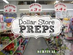 While lots of preps cost quite a bit of cash, there are many dollar store preps that you could add to your bug-out bag to help you through a SHTF situation.