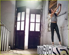 Selena Gomez Takes Selfies For Adidas NEO Summer Collection Campaign! | selena gomez adidas neo summer campaign 01 - Photo