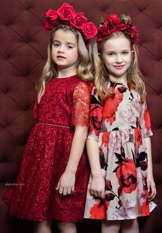 ALALOSHA: VOGUE ENFANTS: Must Have of the Day: The colour of love fits perfectly on Patachou girls!