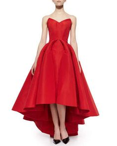 Zac Posen #gown #evening #red