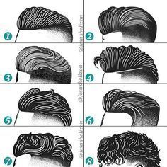Hairstyles For Men (Undercut) | By Jesús Belizón [Drawing - Fashion - Long Top - Short Sides]