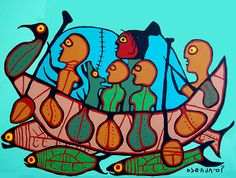 Migration from Siberia - Norval Morrisseau