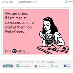 funny sister quotes-so very true! I love my sister Love My Sister, Best Sister, Just In Case, Just For You, Love You, My Love, Sister Quotes Funny, Funny Quotes, Funny Sister