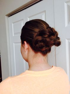 Low Braided Bun, simple, classy By Kate Hairdressers, Bun Hairstyles, Braids, Classy, Student, Motivation, Simple, Life, Bang Braids