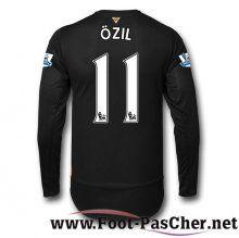 Maillot De Foot Arsenal Noir OZIL 11 Manche Longue Third 15 2016 2017 Pas Chere