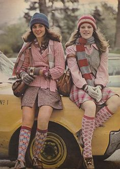 August 1973. 'You won't miss the bus if you buzz off with our girls.' #70sstyle #70sfashion