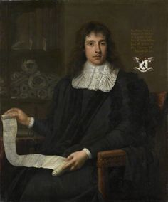 George Jeffreys, 1st Baron Jeffreys of Wem (born 1645, created 1685, died 1689), painting (1673), by John Michael Wright (1617-1694).