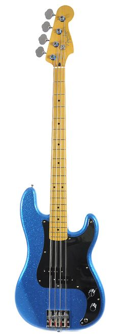 FENDER Steve Harris Precision Bass - Royal Blue Metallic | Chicago Music Exchange
