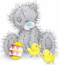 Easter time for Tatty Teddy Teddy Images, Teddy Bear Pictures, Cute Images, Cute Pictures, Creative Pictures, Tatty Teddy, Clipart, Art D'ours, Easter Wallpaper