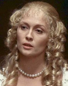 Faye Dunaway as lady de Winter (The Four Musketeers)