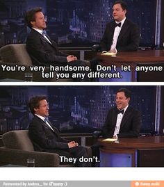 Handsomeness level: Iron Man / iFunny :)
