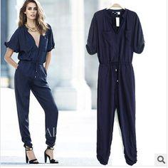 e6ac62714296 Spring 2014 summer bodysuit women new women s casual pants rompers womens  jumpsuit fashion Siamese trousers jumpsuit women