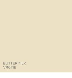 Buttermilk VR071E, available at Ace.