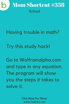 Brilliant School Hacks Everyone Should Know! - Beenke Brilliant school hacks every student should know! These life hacks for school can help your child focus, get organized, recall more information, and make learning a little bit easier. School Life Hacks, Life Hacks Math, High School Hacks, College Life Hacks, School Study Tips, Useful Life Hacks, I School, Mom Hacks, Life Hacks For Students