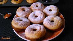 Diabetic Recipes, Diet Recipes, Healthy Recipes, Healthy Foods, Recipies, Healthy Desserts, Cake Cookies, Bagel, Doughnut