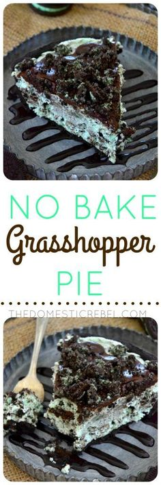 List Of Desserts, No Bake Desserts, Easy Desserts, Keto Desserts, Mint Desserts, Baking Desserts, Dessert Simple, Pie Recipes, Baking Recipes